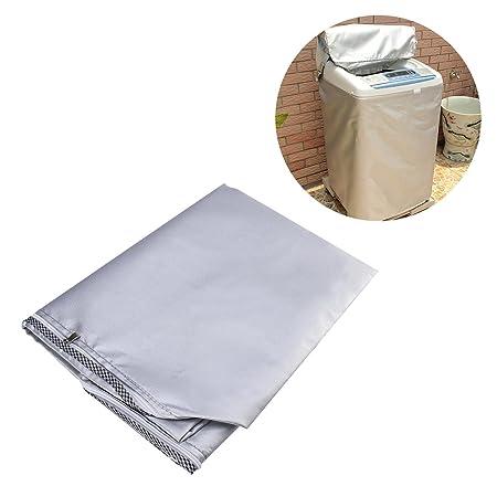WINOMO Lavadora Cubierta impermeable para lavadora/secadora ...