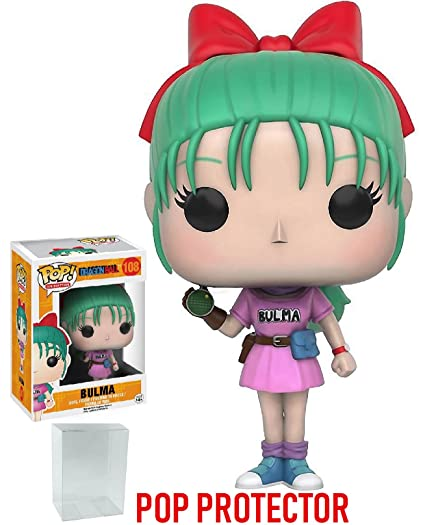 Amazon.com: Funko POP. Anime: Dragon Ball Z – BULMA Vinyl ...