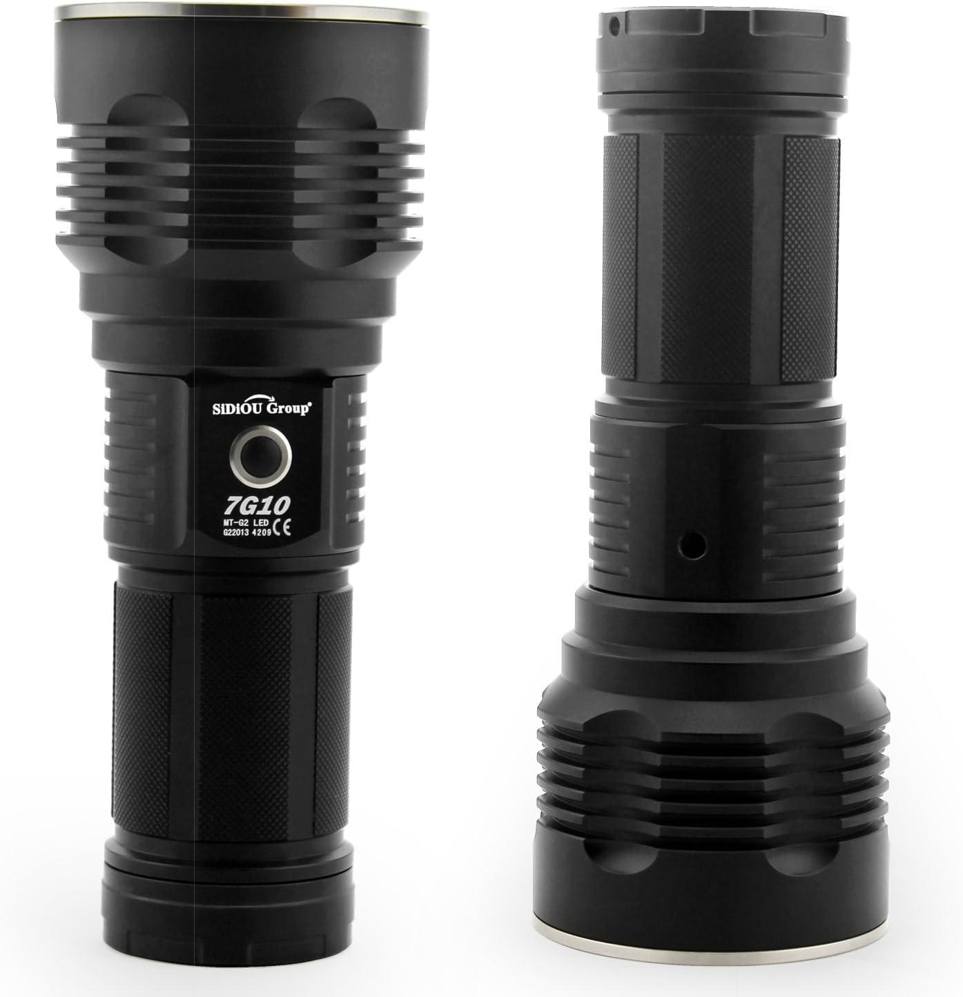 Sidiou Group XPG R5 LED 300LM lampe de poche MINI lampe de poche USB lampe rechargeable /& portable de poche mini lampe de poche de porte-cl/és