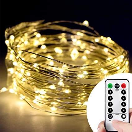 Starry String Lights Impressive Amazon Kany 60LED 60ft Copper Wire Starry String LED Lights