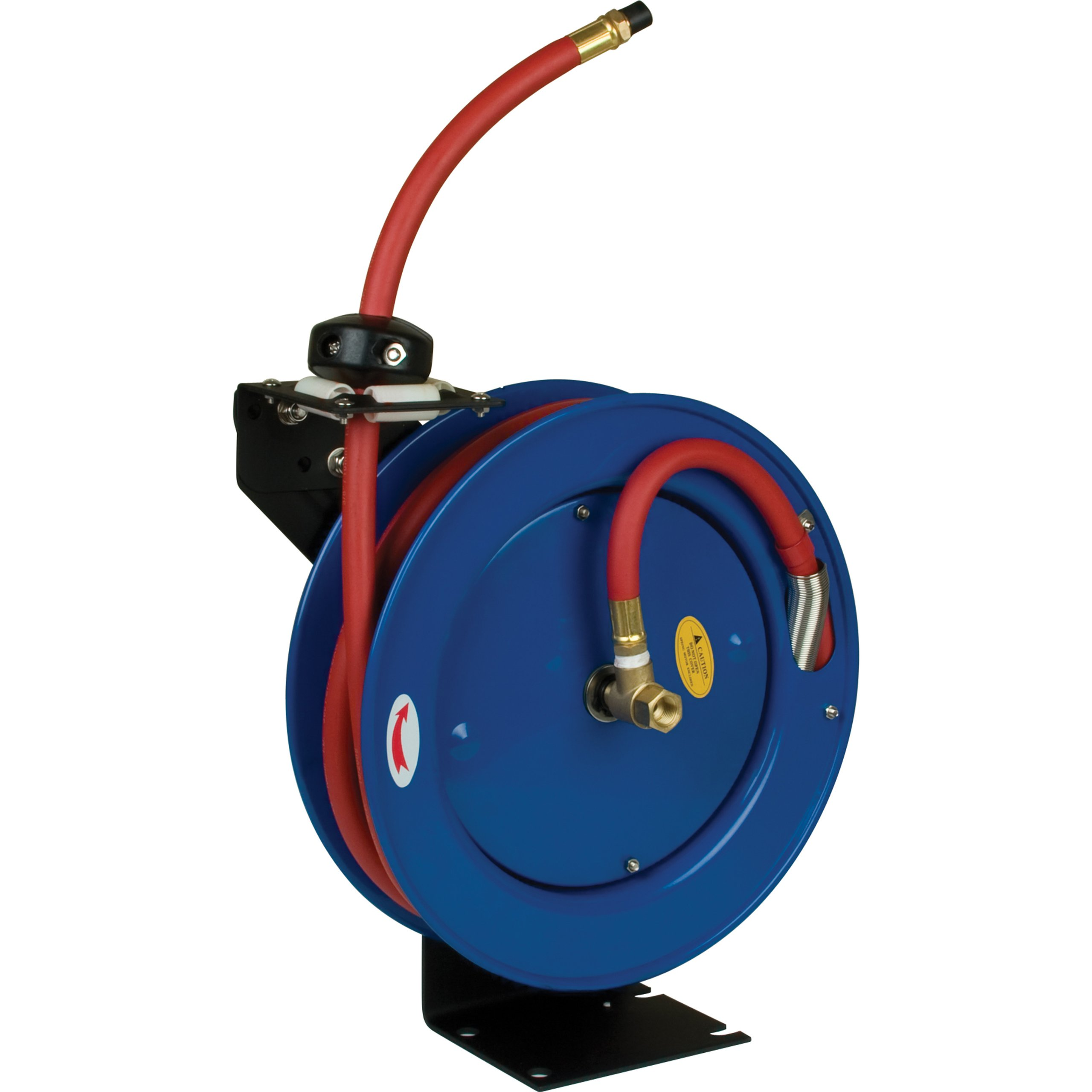 Performance Tool M608 Auto Retractable Hose Reel with 25-Foot Hose