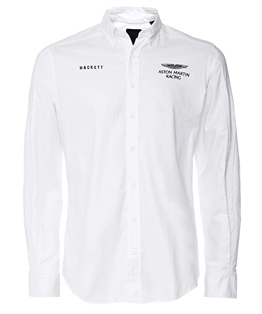 Hackett Camiseta Manga Corta HM307501800WHITE Blanco Hombre Talla ...