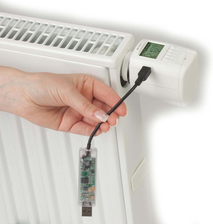 Comet Plus 700100422 Thermostat /électronique Chauffage Blanc