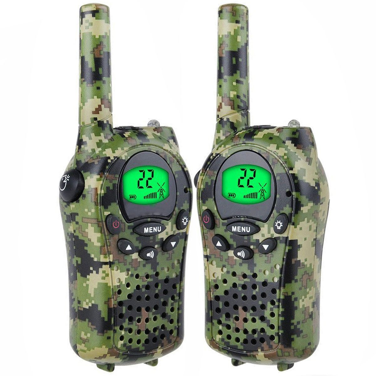 TOP Gift Toys for 3-12 Year Old Boys, Handheld Mini T-68 Walkie Talkie for Kids 3 Miles Range Best Gift Toys for 3-12 Year Old Girls Gifts for 3-12 Year Old Girls Boys Green TGUSMXD001