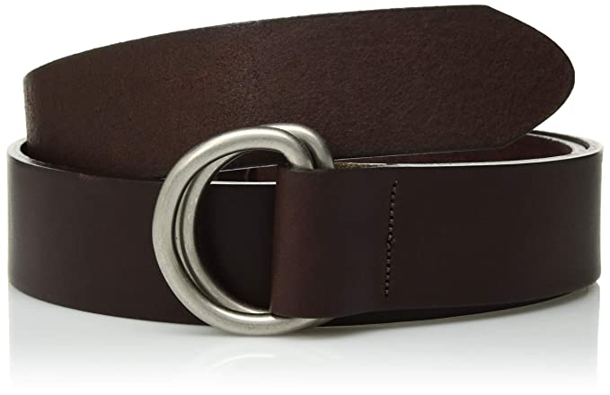 b16f57f885caa Mountain Khakis Men's Leather D Ring Belt, Brown, Small (30-32 -