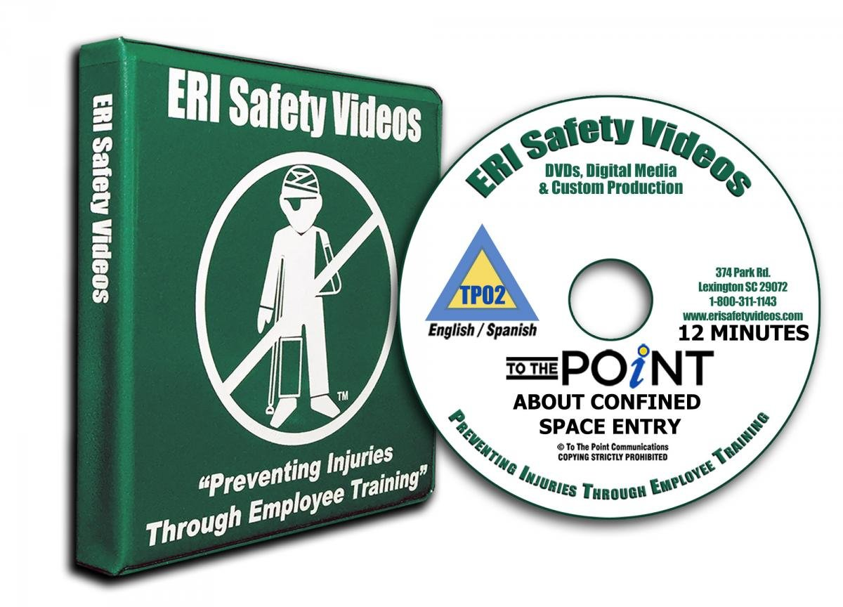 To The Point About Confined Space Entry, DVD, English & Spanish
