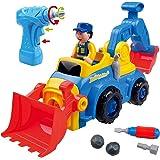 Think Gizmos Kit Smontabile per Bambini - Crea Il Tuo Kit di Giocattoli per Ragazzi e Ragazze di 3 4 5 6 7 8 + (Camion 4 in 1)