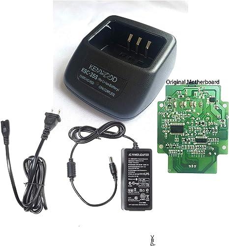 Rapid Li-ion Charger KSC-35 for Kenwood TK3400 TK3402 TK2312 Portable Radio