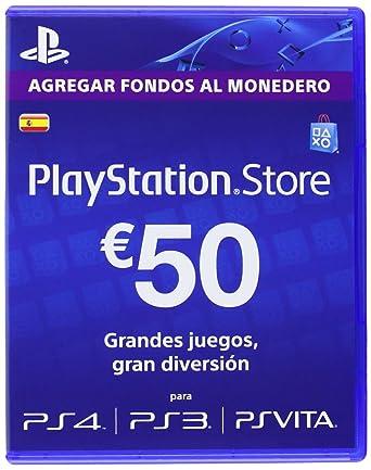 Sony - Tarjeta De Carga PSN De 50 - Reedición (PS3): Amazon ...