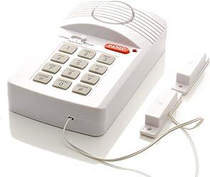 iprotect drahtloses Sicherheitssystem/magnetischer Tür- und Fensteralarm Einbruchschutz – mit Pin-Code und 130dB Sirene