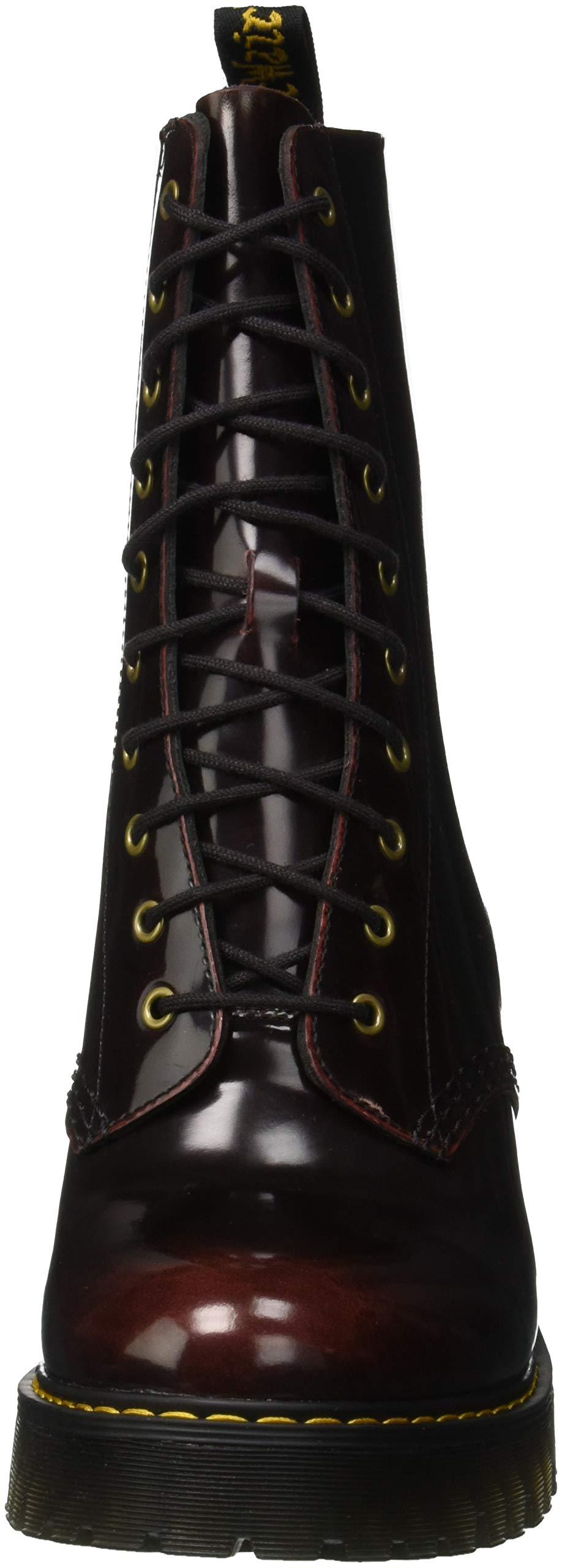 Dr. Martens Women's Kendra Fashion Boot, Cherry Re Choose SZcolor