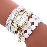 Montre Bracelet Femmes Pas Cher Oyedens Montres Bracelet Pour Femme Charme Vintage Weave chaîne Bracelet Femmes Mode Montre-Bracelet Bijoux Cadeaux