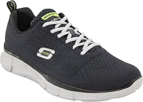 Skechers (Skees) Equalizer- Quick Reaction - Zapatillas de Deporte para Hombre, Color Negro, Talla 48.5: Amazon.es: Zapatos y complementos