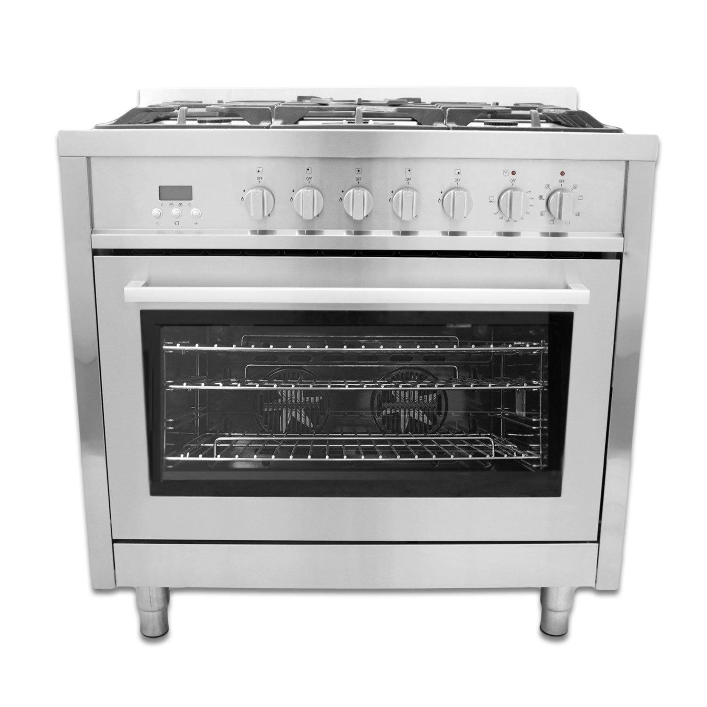 Amazon.com: Cosmo 36 in. Dual Fuel Range, F965: Appliances