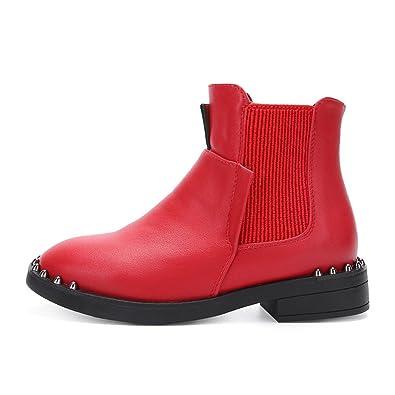 50aa2eea147943 Qianliuk Mädchen Chelsea Boots  Amazon.de  Schuhe   Handtaschen