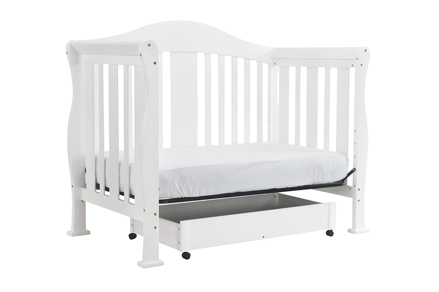 amazon com davinci parker 4 in 1 convertible crib with toddler bed