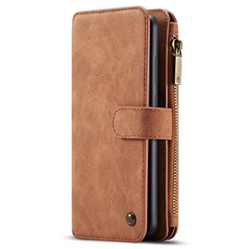 7c1199172f1ee Geldbörse mit Handyfach für Huawei Mate 20 Handyhülle Handytasche Lite  Kredit Karten Fach Geldklammer Flip Case