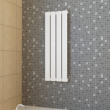 Anself - Radiador de pared 311 x 900 mm,350W,color blanco