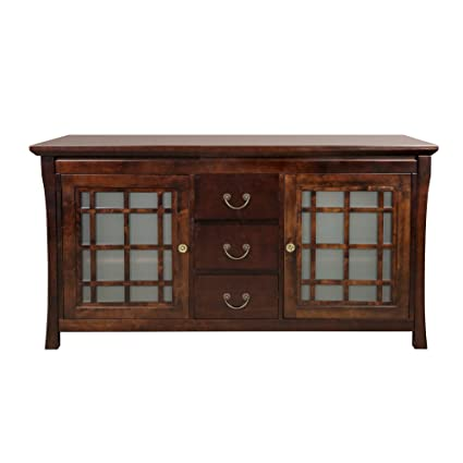 Merveilleux RONBOW Kozo 60 Inch Living Room/Bathroom Furniture In Vintage Walnut, Wood  Cabinet With