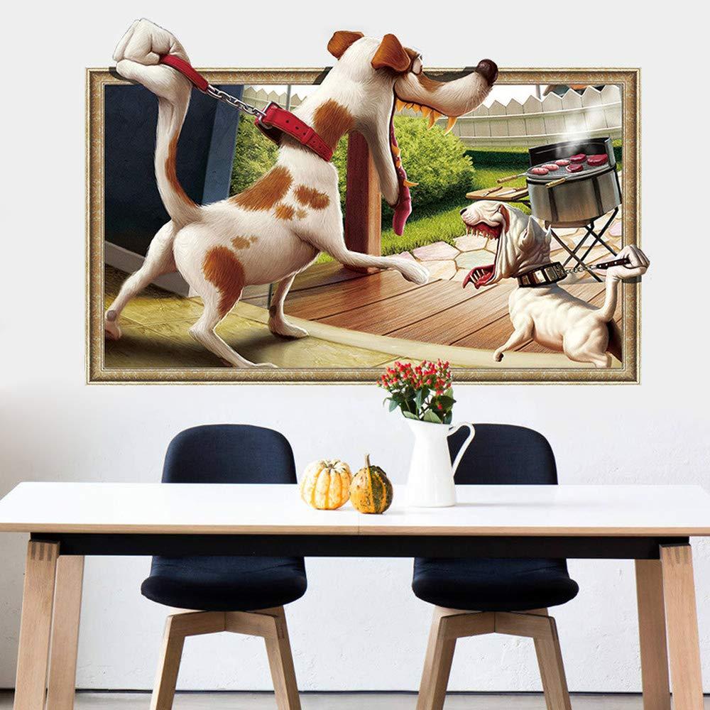 Vinilo Decorativo Pared [7G896Y8H] animales