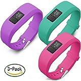 Garmin Vivofit 3 & Vivofit JR / Vivofit JR. 2 Bands, SKYLET Silicone Replacement Bands for Garmin Vivofit 3 & Vivofit JR/ Vivofit JR. 2 Bracelet With Secure Watch Clasp (No Tracker)