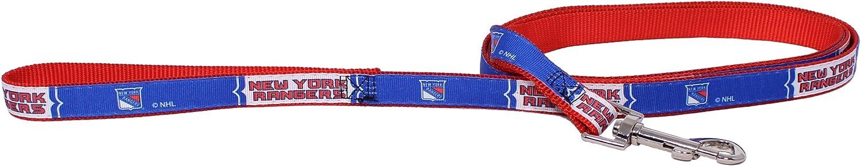 Hunter New York Rangers Dog Pet Premium 6ft Nylon Leash Lead Licensed Large