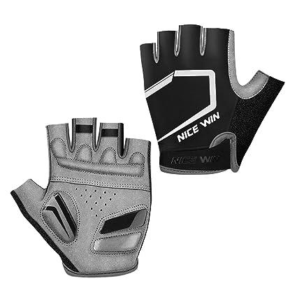 Men Women/'s Road Mountain MTB Bike Bicycle Cycling Half Finger Gloves Anti-skid