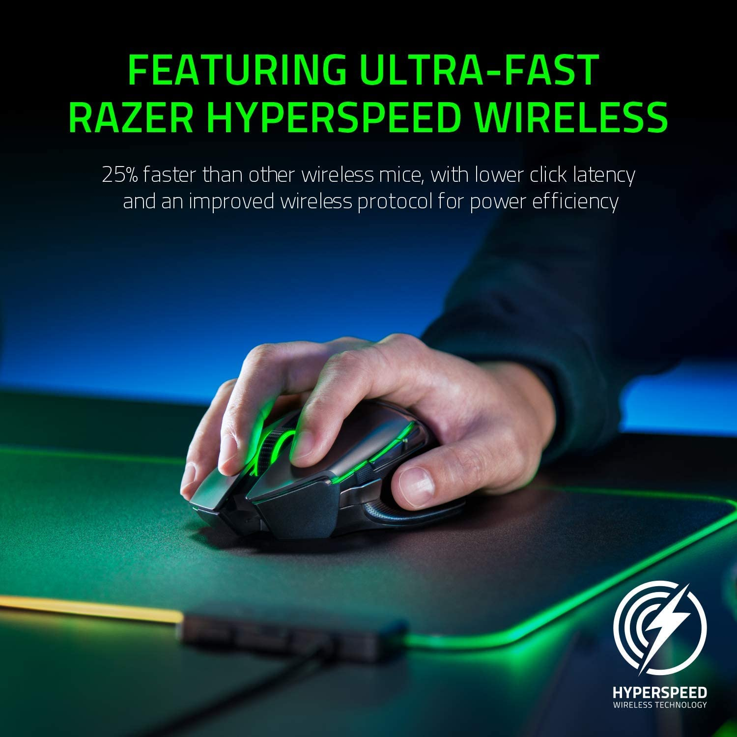 Razer Basilisk Ultimate Wireless Gaming Mouse with 11 Programmable Buttons 5