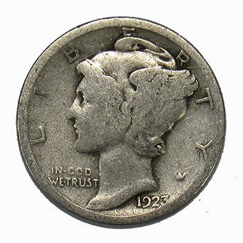 1931 10c Mercury Silver Dime US Coin Average Circulated