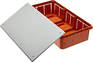 Electraline 60413 - Caja de derivación (para empotrar en obra ...