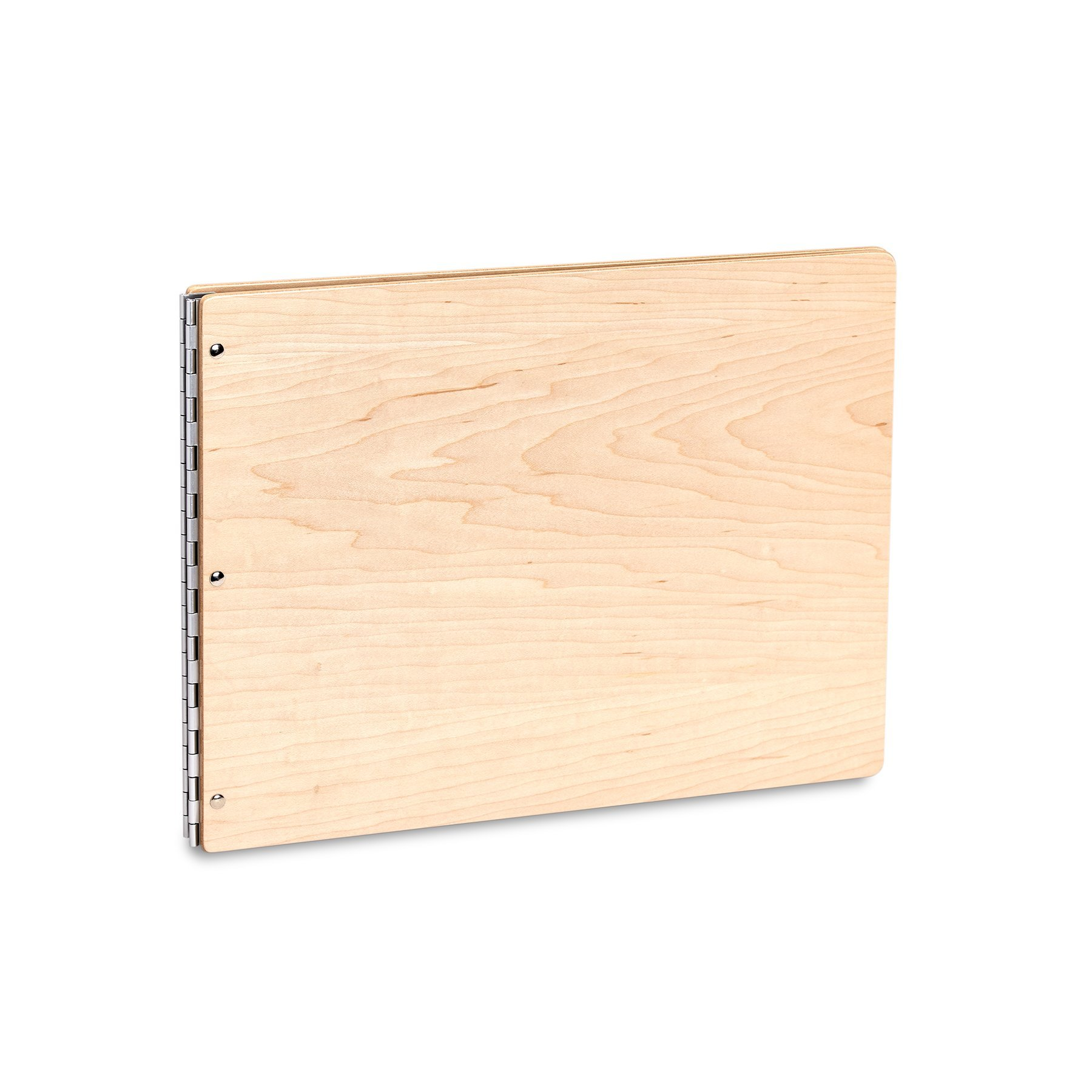 Pina Zangaro Maple Screwpost Binder, 11x14 Landscape Orientation (34957) by Pina Zangaro
