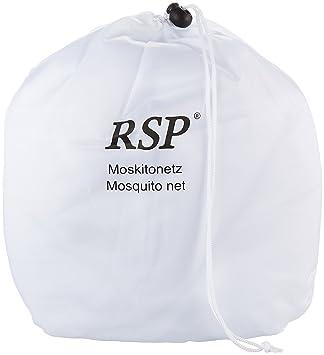 PRS RSP Travel XXL - Mosquitera para camas de matrimonio o individuales blanco blanco Talla: