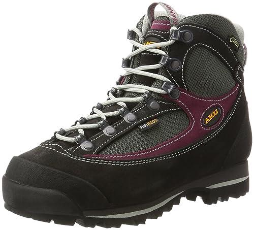 Womens Trekker Lite Ii Gt W High Rise Hiking Boots, Grey/Magenta, 7 UK Aku