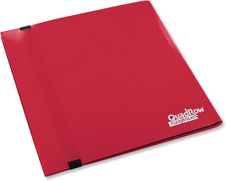 Ultimate Guard QuadRow 12-Pocket FlexXFolio Red Card Game