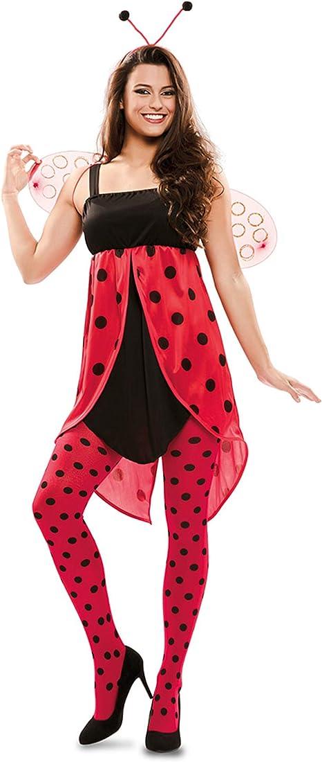 Disfraz de Mariquita para mujer: Amazon.es: Juguetes y juegos