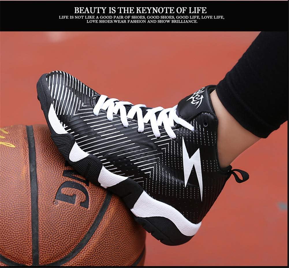LFLDZ Frau der Männer Basketball Schuhe, Paar hohe