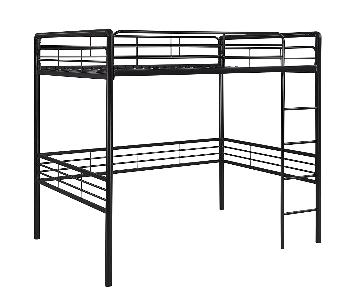 dorel home products full loft bed black amazonca home  kitchen -