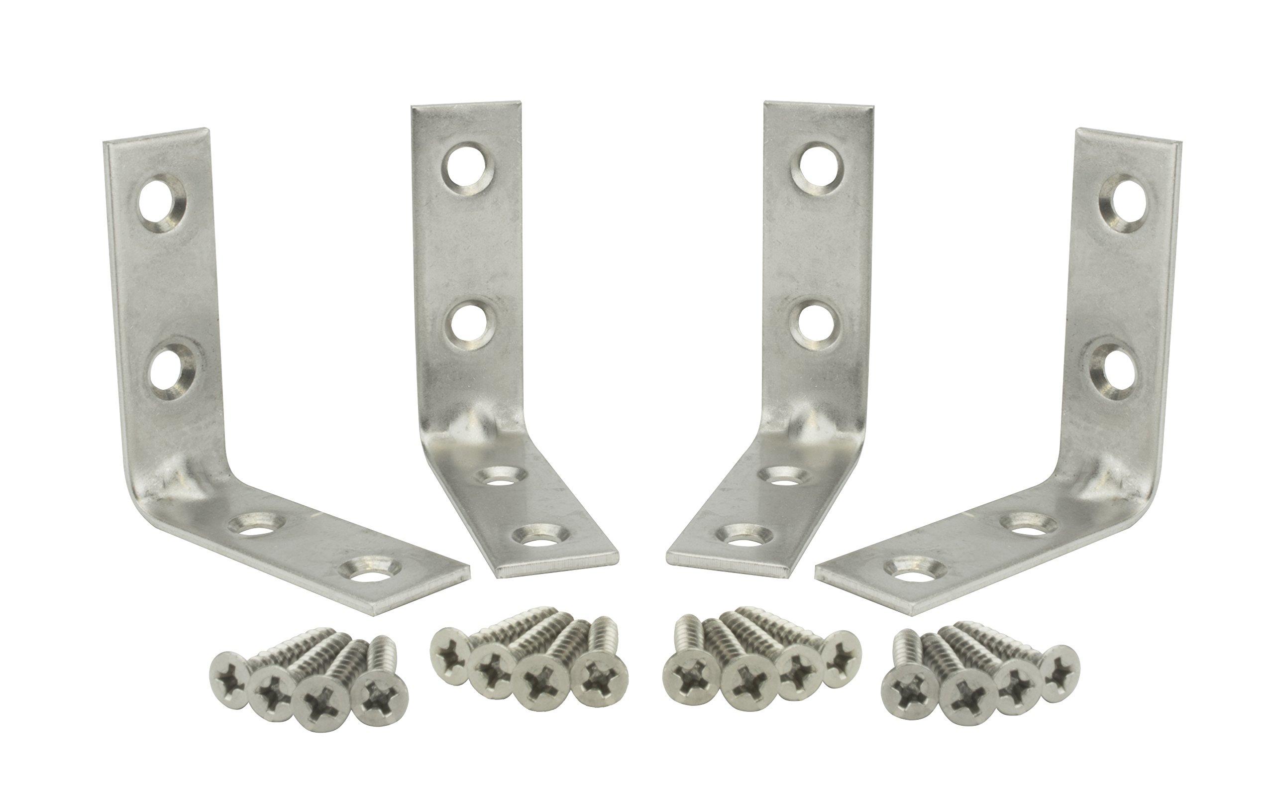 Specialty Hardware Corner Brace 2 inch Stainless Steel 120pcs