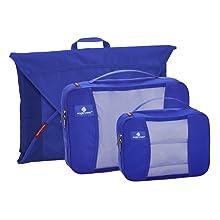 Eagle Creek Travel Gear Luggage Pack-it Starter Set, Blue Sea