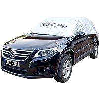 PEARL Autogarage: Premium Auto-Halbgarage für Obere Mittelklasse Kombi 410 x 138 x 45 cm (Wetterfeste PKW Halbgaragen)