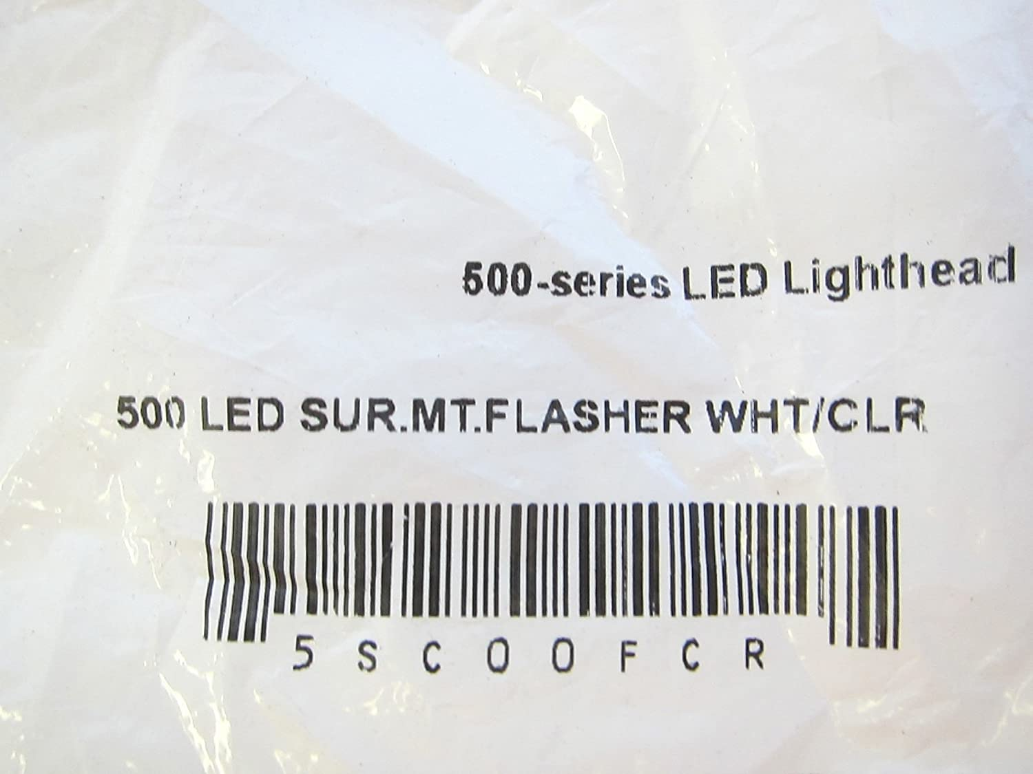 Whelen 500 Series Led Surmtflasher Wht Clr 5sc00fcr Smart Wiring Diagram Other Products Everything Else
