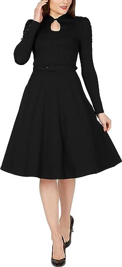2c6c328292d2 BlackButterfly Megan' Vintage Clarity Pin Up Dress: Amazon.co.uk ...