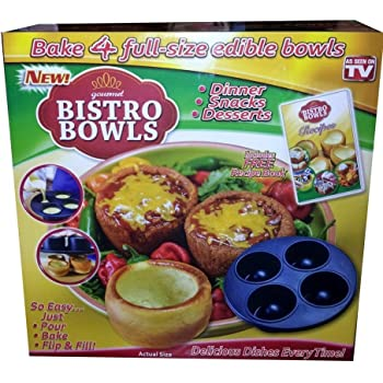 Amazon Com Sweet Creations Bake A Bowl Pan Kitchen Amp Dining