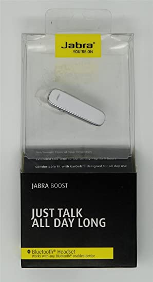 Image Unavailable. Image not available for. Color  Jabra Boost Bluetooth  Wireless Headset ... 152a9165a9