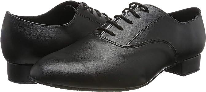 DSOL CLASSIC Zapatillas de Danza de Piel sint/ética para Hombre Negro Negro 39.5 EU