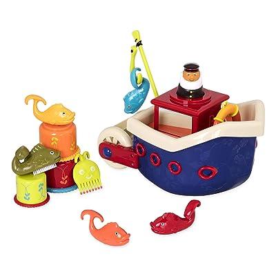 Fish and Splish Bath Toy, 13 Piece Play Set: Toys & Games