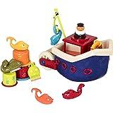 B toys – Fish N Splish Tub Toys Set – BPA Free 13-Pieces Bath Toys for Toddlers and Babies 12m+ (13-Pcs)