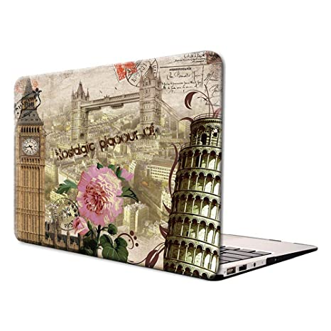 Lenboes A1932 Nostalgic City MacBook New Air 13 A1932 ...