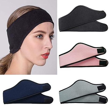 Fansport Unisex Ear Warmer Polar Fleece Headband 6178091c3462