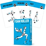 Foam Roller Exercise Cards, Set of 62 - Guided Stretching & Recovery Workout for Home or Gym :: Illustrated Fitness…